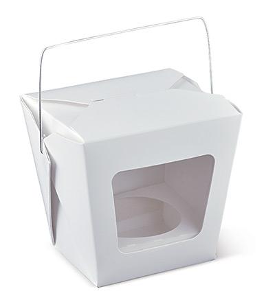1 Cup Cake Window Box Ctn 450