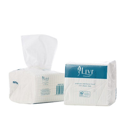 Livi Essentials Bathroom Toilet Paper 2ply