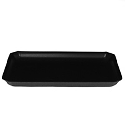 11 x 9 Black Foam Tray Ctn 500