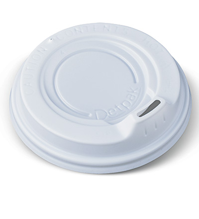 12-16-20oz Ripple Cup Lid White Ctn 1000
