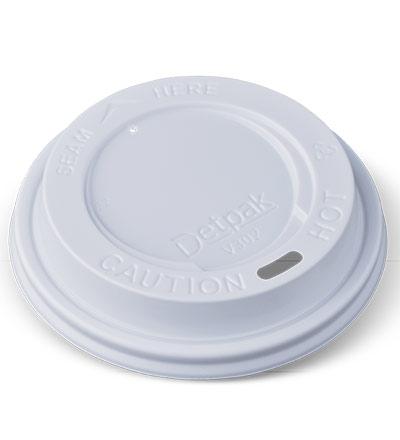 12/16oz Eco Hot Cup Lid White Ctn 1000