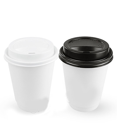 12oz Double Wall Cup White Ctn 500