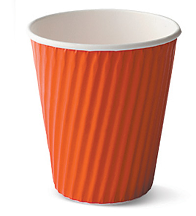 12oz Ripple Cup Red Ctn 1000