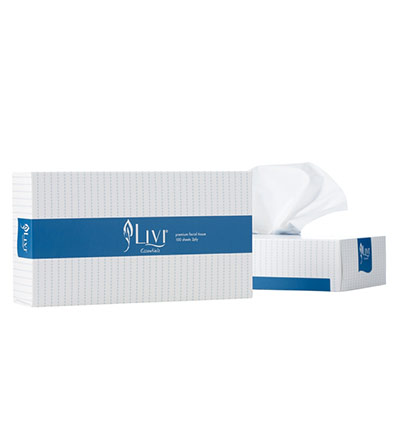 Livi Essentials Facial Tissue 100s