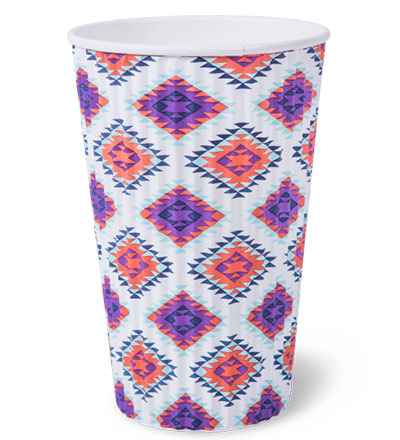 16oz Ripple Wrap Hot Cup Ctn 500