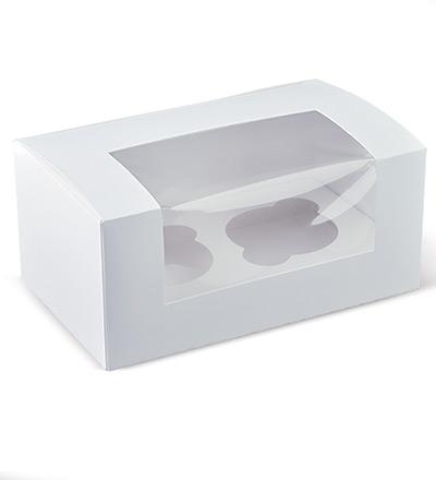 2 Cupcake Window Box Ctn 400