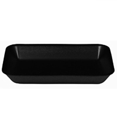 7 x 5 Deep Black Foam Tray Ctn 1000