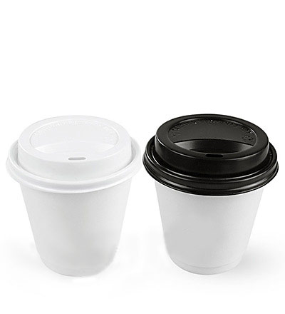 8oz Double Wall Cup White Ctn 500