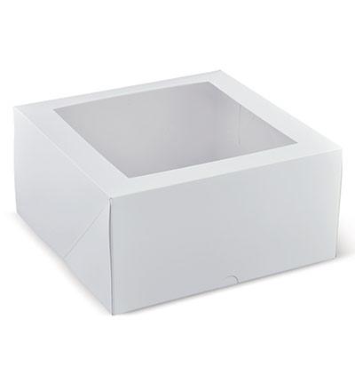 9 inch Deep Window Cake Box Ctn 100