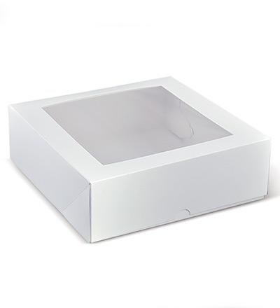9 inch Square Window Cake Box Ctn 200