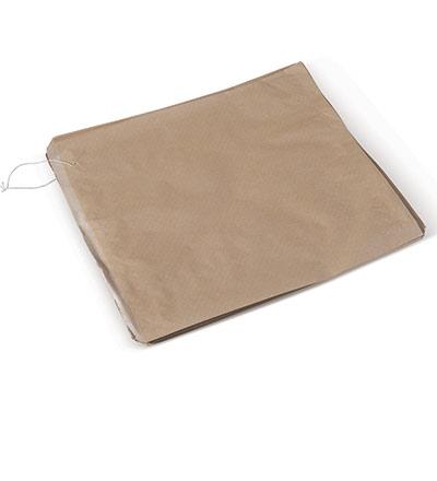 6 Sq. Brown Bag 300x300 Pkt 500