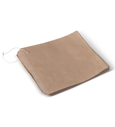 2 Square Brown Bag 200x200 Pkt 500
