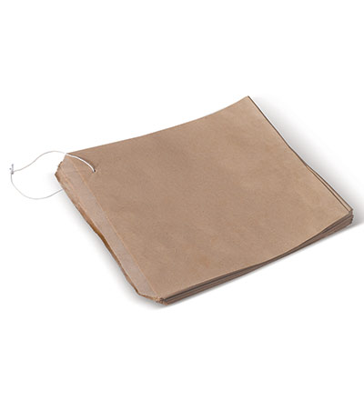 1 Square Brown Bag 170x178 Pkt 500