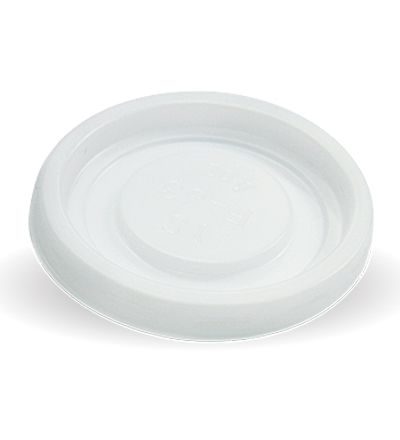 63mm PS White No hole  4oz Lid - Ctn. 1000