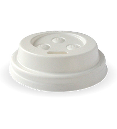 63mm PS White Sipper 4oz Lid - Ctn. 1000