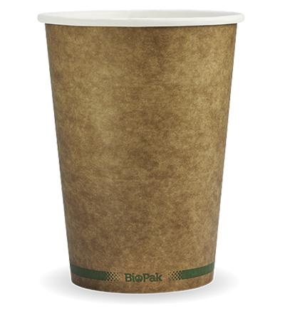 32oz Paper Bio Bowl - Kraft Look - 500ctn