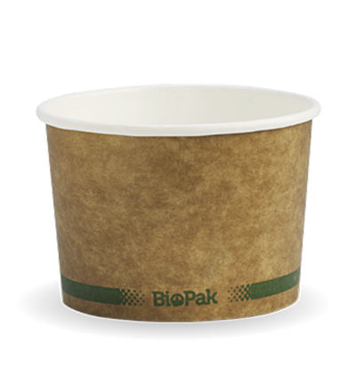 8oz  Bio Bowl - Kraft look - 1000ctn
