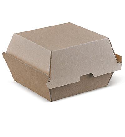 Burger Clam Brown 105x102x83 Ctn 250