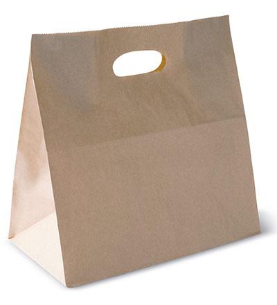 Checkout Bag with Die cut handle Ctn 500