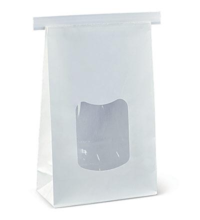 Large Window Tin Tie Bag Ctn 400