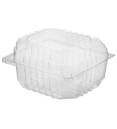 Hinged Lid Small Burger Pack, Eco Smart