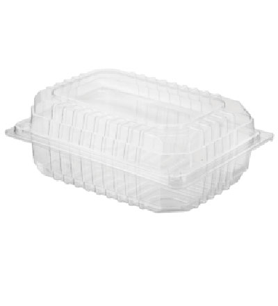 Hinged Lid Small Salad Pack, Eco Smart