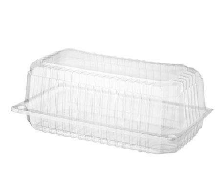 Hinged Lid Bar Cake Pack, Eco Smart