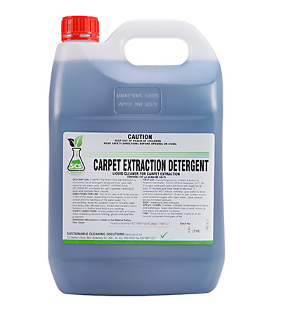 Carpet Extraction Detergent. 5lt or 15lt