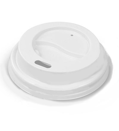 12oz Double Wall Cup Lid White Ctn 1000