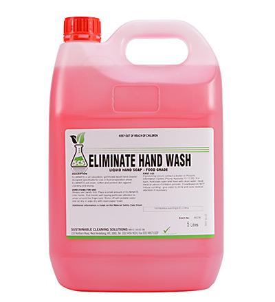 Eliminate Hand Wash. 5lt or 15lt
