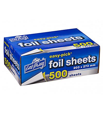 Foil Sheets Lge Ctn 500