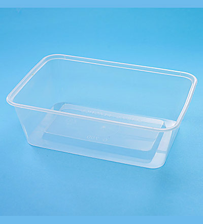 Rect. Container - Clear 700ml  Pkt 50