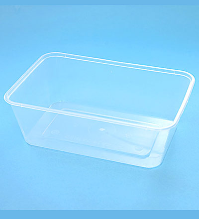 Rect. Container - Clear 750ml  Pkt 50