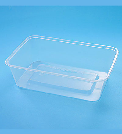 Rect. Container - Clear 650ml  Pkt 50