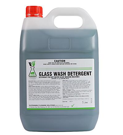Glass Wash Detergent. 5lt or 15lt