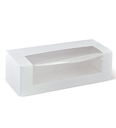 10 inch Long Window Cake Box Ctn 300