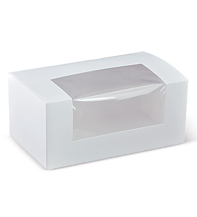 7 inch Long Window Cake Box Ctn 400