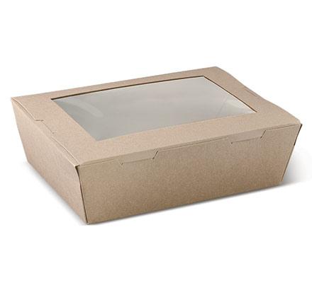 Large Window Lunch Box - 195x140x65mm -Ctn 200