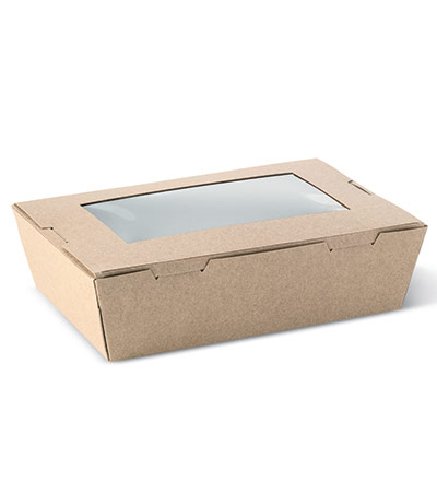 Medium Window Lunch Box Ctn 200