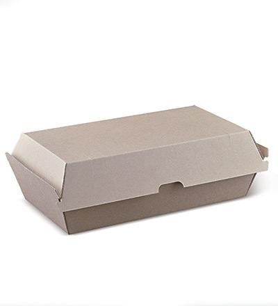 Large Snack Box Brown - Ctn 200