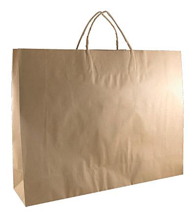 Lge Boutique Kraft Bag Brown 350x450