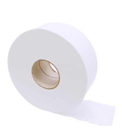 Livi Basics Jumbo Toilet Paper 1ply 500m - Pkt 8