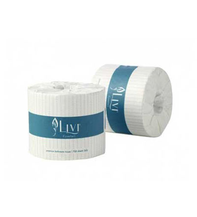 Livi Essentials Bathroom Toilet Paper 2ply - Ctn 48