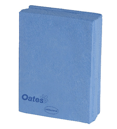 Oates Heavy Duty Wipes 10pk Blue