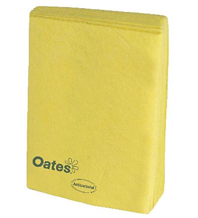 Oates Heavy Duty Wipes 10pk Yellow