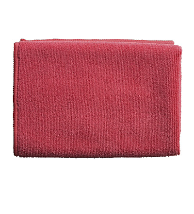 Oates Microfibre Cloth Red