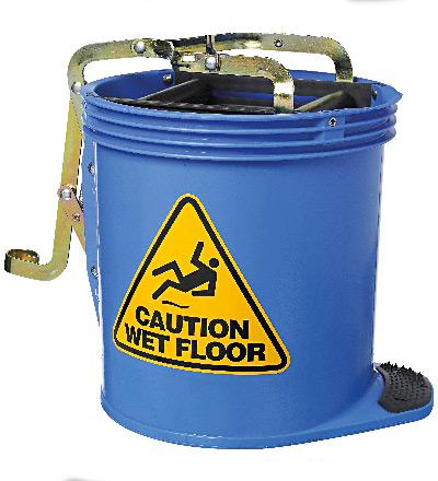 Oates Wringer Mop Bucket, Blue. 15lt