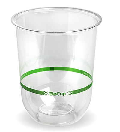 500ml Clear Biocup Tumbler-1000