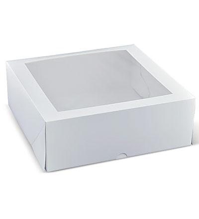 11 inch Square Window Cake Box Ctn 100