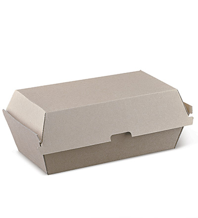 Regular Snack Box Brown - Ctn 200